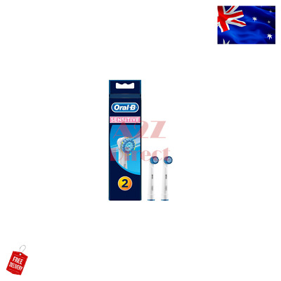 AU15.49 • Buy Oral-B 2 Pack Sensitive Replacement Electric Toothbrush Heads Refills Extra Soft