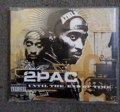 2pac Until The End Of Time (CD Single) 4 Track's • 2.49£