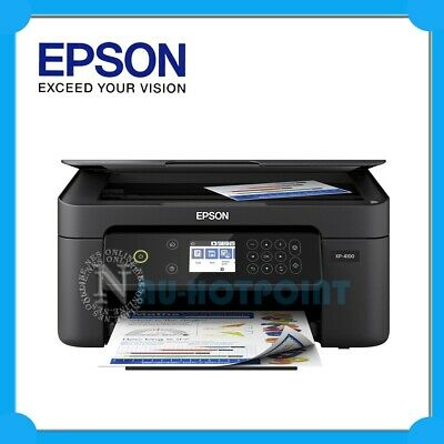 AU99.95 • Buy Epson Expression Home XP-4100 3-in-1 Wireless Photo Inkjet Printer+AirPrint #212