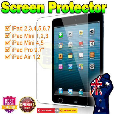 AU5.95 • Buy Ultra Clear /Matte Screen Protector Film For Apple IPad 5th 6th 7th Gen Air 1 2