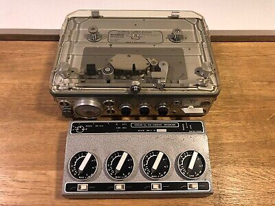 Nagra Kudelski IV-L 3 Head Portable Reel Tape Recorder & Mixer / UK • 1,800£