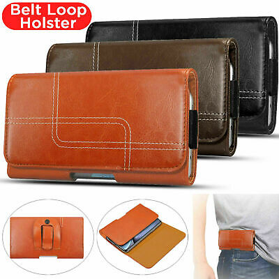 £3.99 • Buy Belt Clip Loop Holster Leather Case Cover For Samsung Galaxy S21 S20 S10 S9 S8+