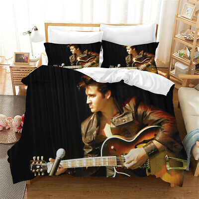 AU113.76 • Buy Classic Poster Bedding Quilt Duvet Doona Cover Set Single Double Queen King
