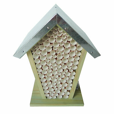 £15.74 • Buy Bee House Box Hive Zinc Roof Pinewood FSC 100% Conservation