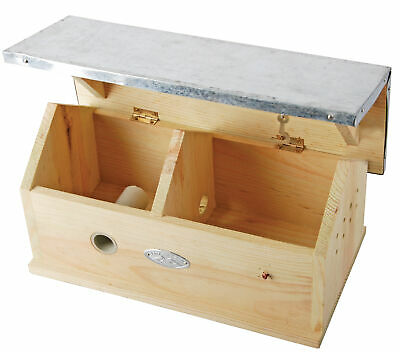 £24.69 • Buy Bumble Bee House Box Bungalow Zinc Roof Pinewood FSC 100% Conservation