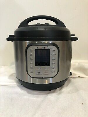 $44.99 • Buy DAMAGED Instant Pot Pressure Cooker 7 In 1 Programmable 6 Quart #B