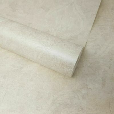 Fine Décor - Cream, Beige, And Grey Textured Floral Damask Feature Wallpaper • 6.49£