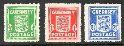 GUERNSEY 1942 GERMAN OCCUPATION ARMS  SG,1 - 3 Unmounted Mint (MNH( • 10.99£