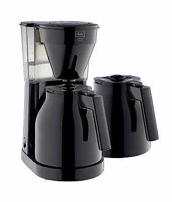 Melitta Filter Coffee Maker With Extra Insulated Jug, Easy Therm II Model -Black • 39.99£