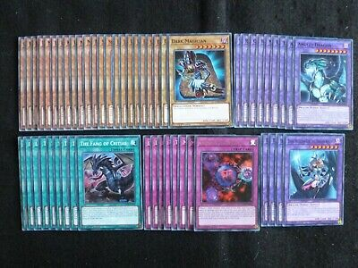 Yu-gi-oh 53 Card Legendary Dragon / Mirror Force Dragon Deck  *ready To Play* • 19.80£