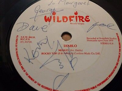 Diablo * Ghost Riders In The Sky * Rare 7  Ep 1979 Signed Excellent Wildfire • 9.99£