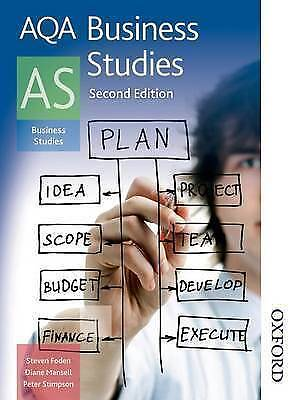 AQA Business Studies AS Second Edition • 13.90£