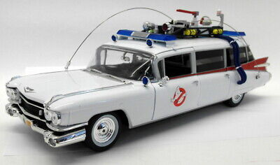 Ertl 1/18 Scale Diecast AWSS118/06 1959 Cadillac ECTO-1 Ghostbusters + Slimer • 129.99£