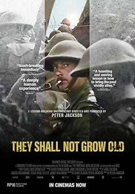 $16.99 • Buy They Shall Not Grow Old  DVD Movie [NTSC, Peter Jackson, War, History Movie] NEW