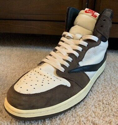 $749.99 • Buy Travis Scott Jordan 1 Retro High Top Size 12 PREOWNED Great Condition