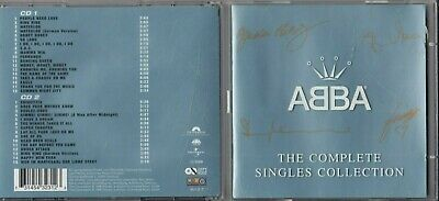 ABBA The Complete Singles Collection 1999 2-CD IN EMBOSSED JEWEL CASE Polydor  • 7.95£