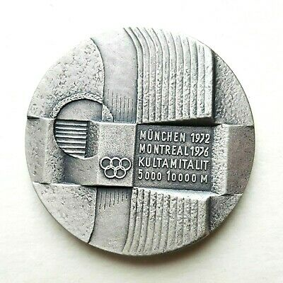 £213.68 • Buy 1972 Olympic Munich Massacre  The  Flying Finns  Athletic SILVER Medal