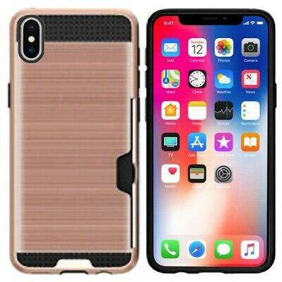 AU6.83 • Buy Apple IPhone X Hard Case With Credit Card ID Holder