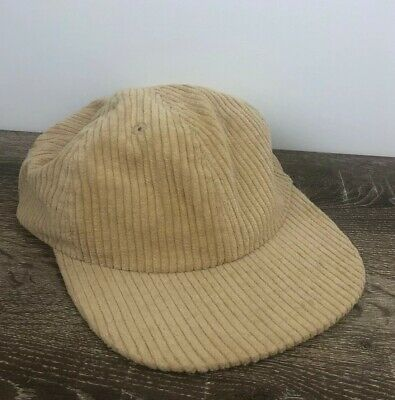 AU23.99 • Buy Urban Outfitters Sand Corduroy Hat Cap Adjustable New With Tags 100% Cotton