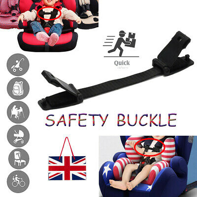 Car Baby Safety Seat Strap Chest Clip Buggy Harness Lock Buckle Clip Anti Escape • 4.75£