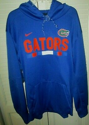 $34.99 • Buy Nwt Nike Florida Gators Football Onfield Therma-fit Blue Pullover Hoodie Xl $70