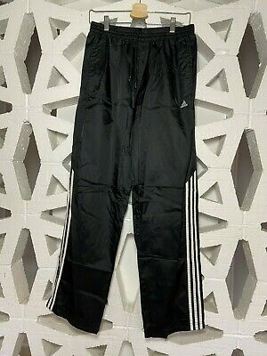 $ CDN32.95 • Buy Vintage Adidas Originals Trefoil Splash Track Pants - Size Medium - Black