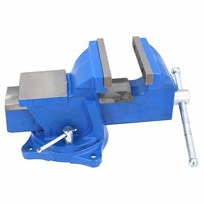 £38.50 • Buy 4  Heavy Duty Engineer Swivel Bench Vice Vise Clamp Workbench With Anvil