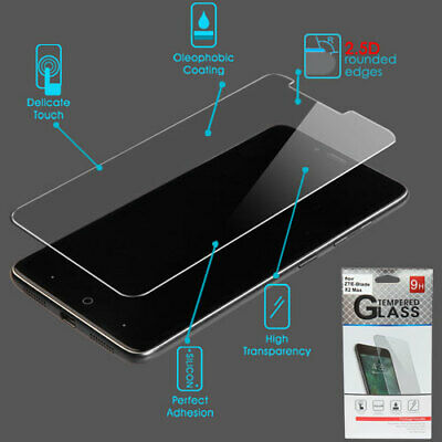 $2.39 • Buy For ZTE Blade X2 Max - Tempered Glass Screen Protector