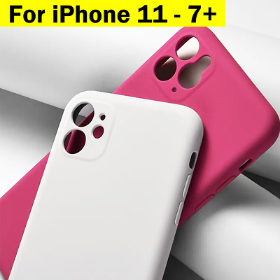 AU7.16 • Buy For IPhone 11 PRO MAX SE 2020 Plus X XS XR 8 Case Silicone Shockproof Cover
