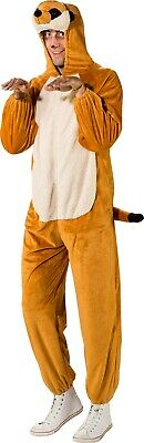 Mens Ladies Meerkat Meercat African Animal Book Day Fancy Dress Costume Outfit • 34.99£