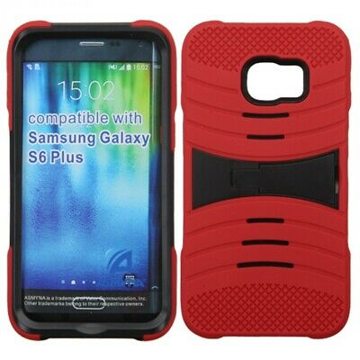 $ CDN10.92 • Buy Samsung Galaxy S6 Edge Plus Silicone Hybrid Shock Resistant Case Cover Stand