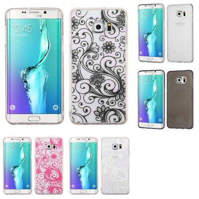 $ CDN7.72 • Buy Samsung Galaxy S6 Edge Plus Silicone TPU Design Case Cover