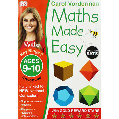 Maths Made Easy: Ages 9-10 By Carol Vorderman (Paperback), Books, Brand New • 5£