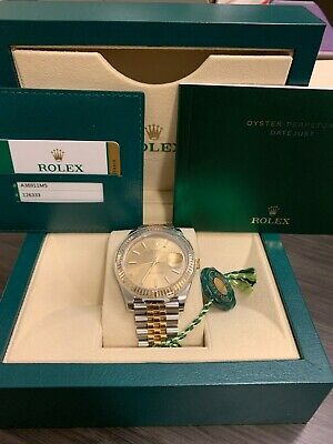 $ CDN16563.41 • Buy NWT Rolex 2-tone Datejust 41 Champagne W/ Jubulie, LOWERED $$$, L@@K!!