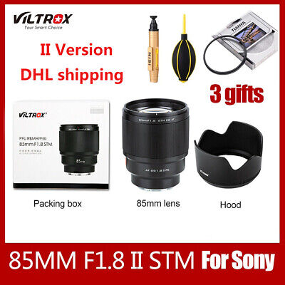 $ CDN475.34 • Buy Viltrox 85mm F1.8 STM Camera Lens AF Auto Focus For Sony A6000 A6300 A7 A6500 A9