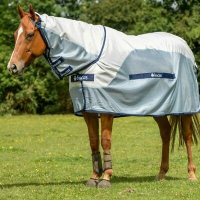 £59.99 • Buy Bucas Buzz-Off Rain Full Neck Turnout Fly Rug - New, RRP £119.00