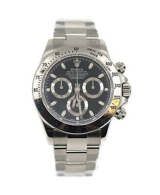 $ CDN32166.52 • Buy Rolex Cosmograph Daytona Stainless Steel Watch 116520
