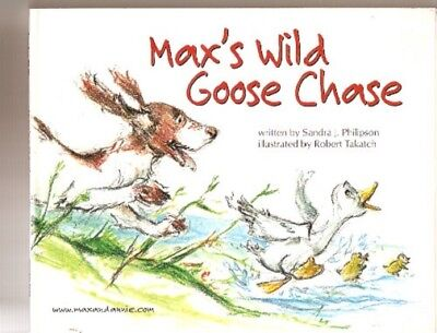 £7.22 • Buy English Springer Spaniel Children's Book Max's Wild Goose Chase Signed Author*