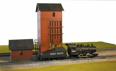 $ CDN36.19 • Buy Life-Like Trains HO Scale Building Kits Coaling Tower 1377 Sealed Free Shipping