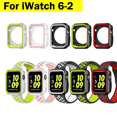 AU13.99 • Buy For Apple Watch IWatch Series SE 6 5 SE Case Soft Full Cover & Band 40 44mm