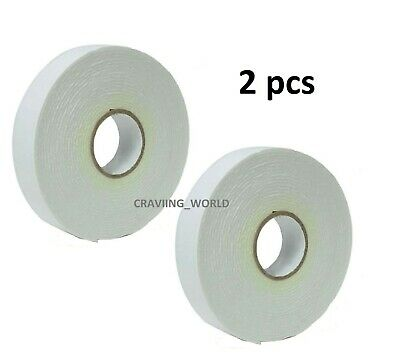 £1.99 • Buy Heavy Duty Strong Double Sided Sticky Tape Foam Adhesive Craft Padded Mounting