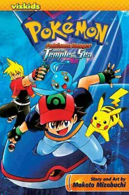 Pokemon Ranger And The Temple Of The Sea, Paperback By Mizobuchi, Makoto, Bra... • 9.10£