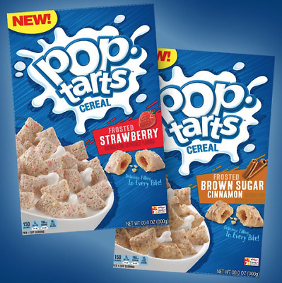 Pop Tarts CEREAL Frosted Brown Sugar  (318g) Family Size Brand New US IMPORT • 11£