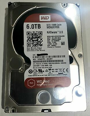 View Details Western Digital WD Red 6TB,Internal,5400 RPM,8.89 Cm (WD60EFRX) Hard Drive USED • 129.99£