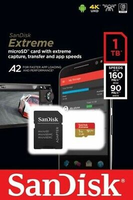$280 • Buy SanDisk SDSQXA1-1T00-GN6MA 1TB Extreme Micro/SDXC Memory Card Adapter - NEW