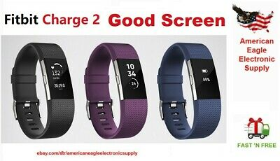 $ CDN39.87 • Buy Fitbit Charge 2 HR Heart Rate Monitor Fitness Activity Tracker <Hairline Crack>