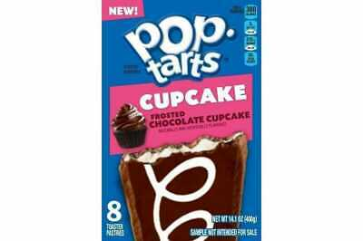 Pop Tarts Frosted Chocolate Cupcake - Box Of 8 - Us Import - Uk Seller • 6.85£