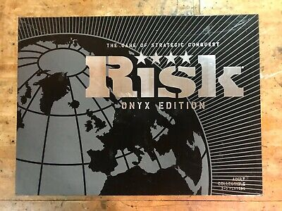 $25 • Buy Risk Board Game Onyx Edition Collectible 3-5 Players Complete