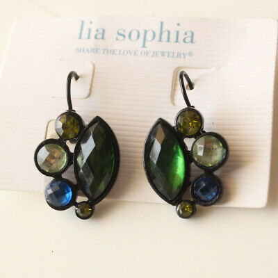 $ CDN6.47 • Buy New Lia Sophia Acrylic Floral Drop Earrings Gift Fashion Women Party Jewelry FS