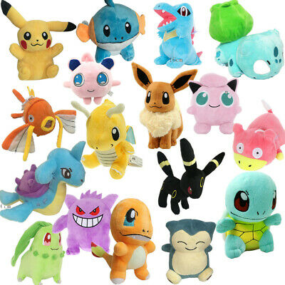 2019 Hot Cute Rare Pikachu Plush Doll Soft Toys Stuffed Teddy Kids Party Gifts • 3.50£